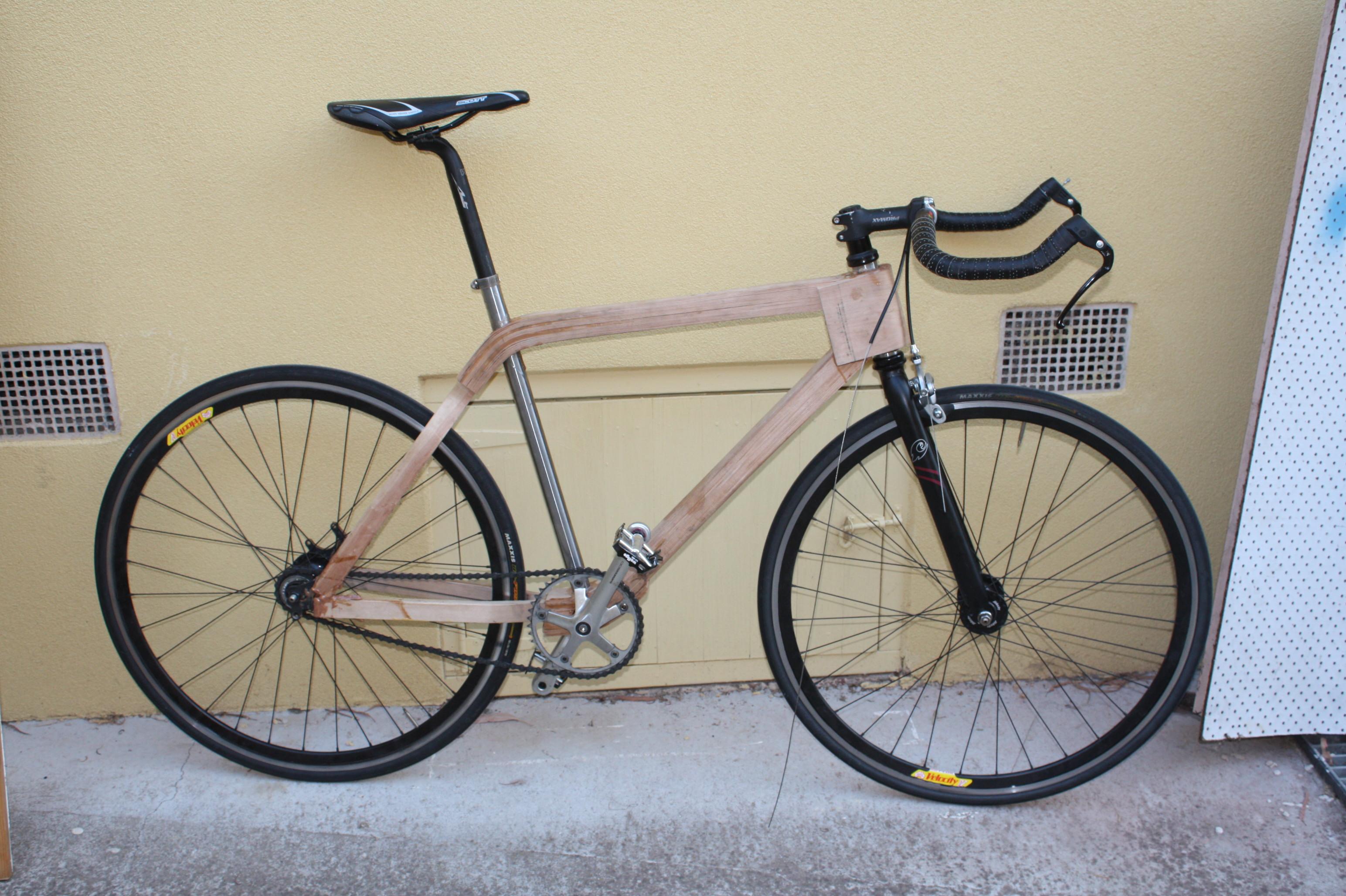 advertisements - Wooden Bike Frame